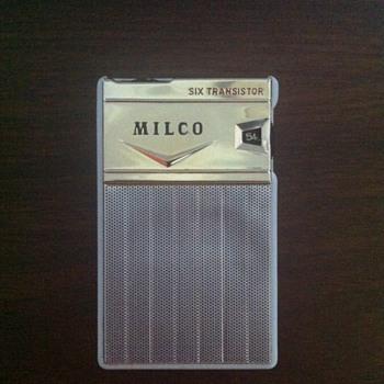 Milco six transistor radio. - Radios