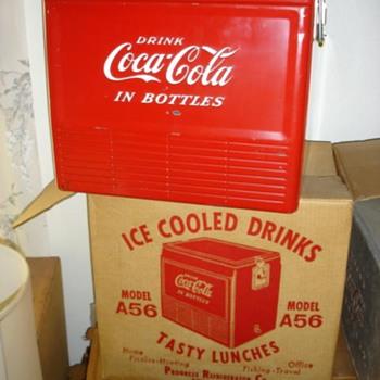 Coke cooler like new, still in the box?