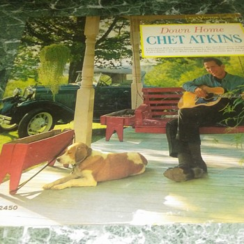 Mr. Chester Burton Atkins...On 33 1/3 RPM Vinyl - Records
