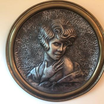 Josef Lorenzl wall plaque??