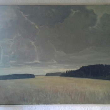 Two paintings by the same artist - Fine Art