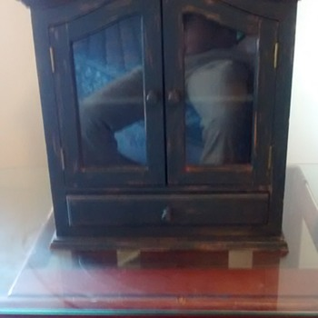 Sweet Haunted Cabinet 40's or 50's America