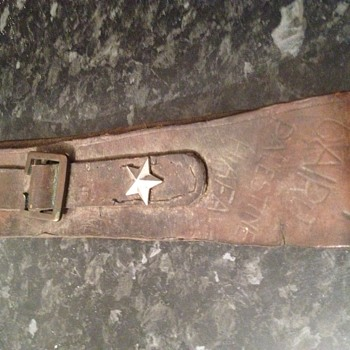 After more information on a belt from ww2