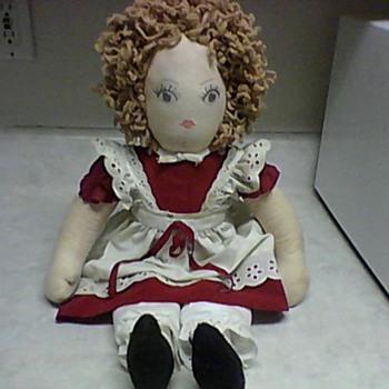 ORPHAN ANNIE RAG DOLL - Dolls