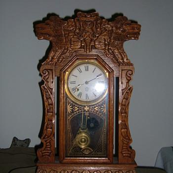 New Haven lion kitchen clock - Clocks