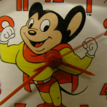 1985 Mighty Mouse Wristwatch by Bradley - Wristwatches