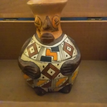 Native Efiggy water jar - Pottery