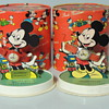 MICKEY WATCHES 1950S OVAL BOX