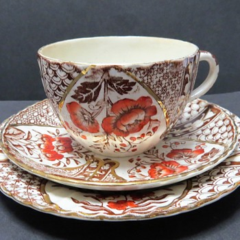 D.M. & Sons Cup, Saucer and Plate - Teck Design (Methven Pottery, Kirkcaldy) - China and Dinnerware