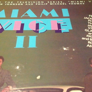 Miami Vice ll Soundtrack  - Records