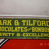 Park & Tilford's Chocolates and Bonbons 1912... Porcelain Sign...Two Colors