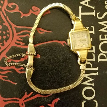 Vintage Women's Milus Bracelet/ Watch - Wristwatches