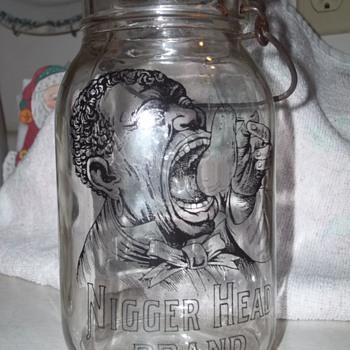 """""""N*$#&*"""" Head Brand Oyster Jar - Kitchen"""
