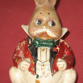 Antique Harrison Cady Peter Rabbit Bank - Animals