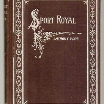 "1895 - ""Sport Royal"" by Anthony Hope - Books"