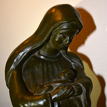 Madonna and Child Sculpture - Fine Art