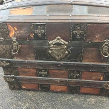Trunk - Great Flea Market Find - Furniture