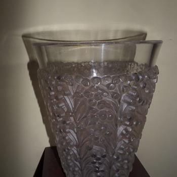 R Lalique St Tropez vase - Art Deco
