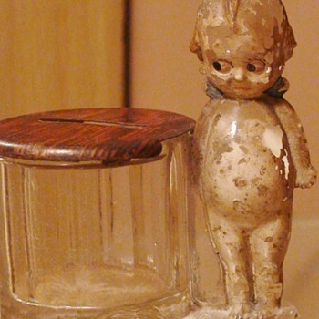 Kewpie Bank  GEO BORGFELDT & CO NY - Coin Operated