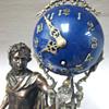 French Swinging Apollo Clock