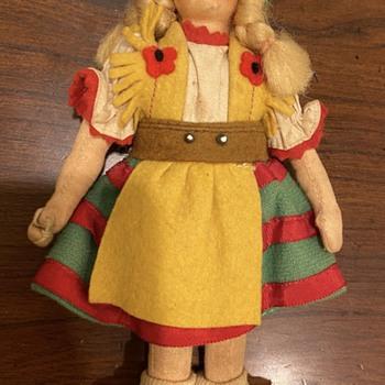Fabric Doll Robin Hood European  - Dolls