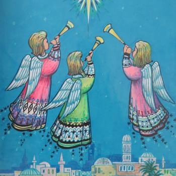 Original Christmas Card Artwork - Christmas