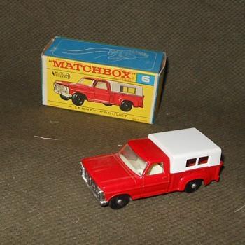 Mega Metal Matchbox Monday MB-6 Ford Pick-Up 1968-1969 - Model Cars