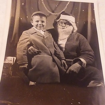 Vintage Santa Claus Photograph - Photographs