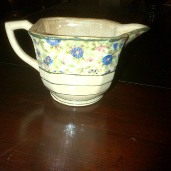 Hand painted pitcher - China and Dinnerware