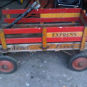 FUN Aero Flyer Espress wood wagon - Sporting Goods