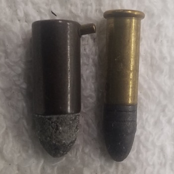 1900s 7mm Pinfire Round - Military and Wartime