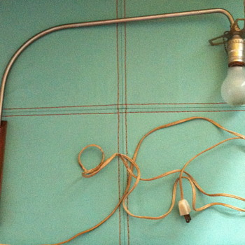 Western New York lighting Co. Lamp. - Lamps
