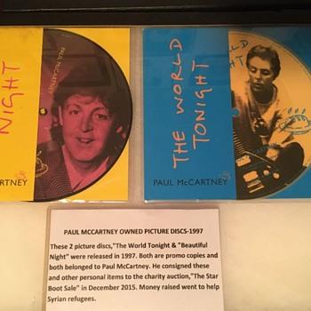 Paul McCartney owned picture discs-1997 - Music Memorabilia