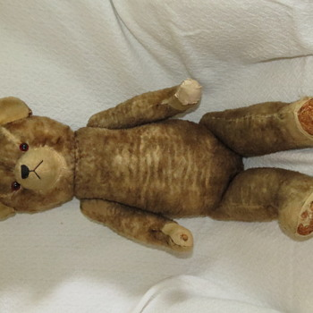 Antique Rod Teddy Bear - Dolls