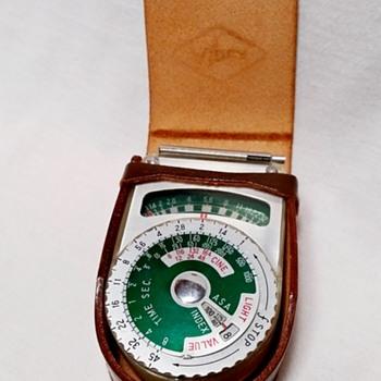 Alpex Light Exposure Meter, with Original Leather Case - Cameras