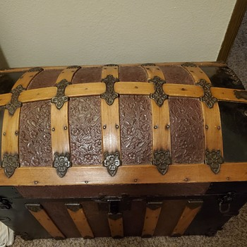 Domed, Luggage Trunk - Furniture