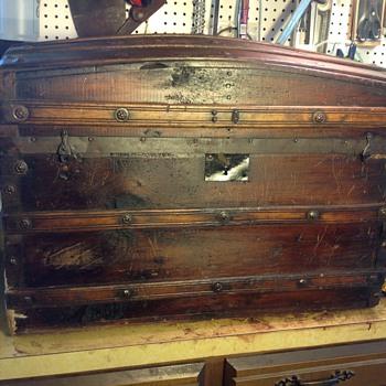 Civil War Era trunk? - Furniture