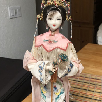 Looking to find out anything about this doll - Asian