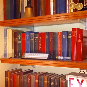 my church hymnal collection - Books