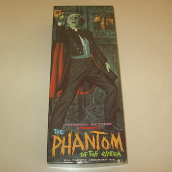 Aurora 1963  The Phantom Monster Model Kit