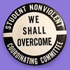 1960s Student Nonviolent Coordinating Committee Pinback
