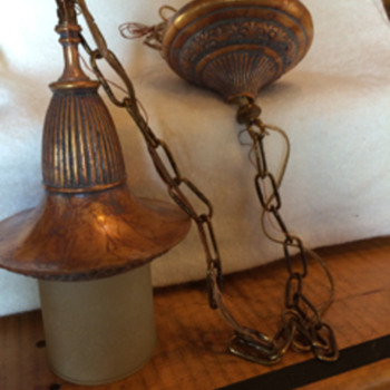 My amazing Stiffel find- what is it?  - Lamps