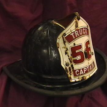 Chicago Firefighter  Captain's Helmet - Firefighting