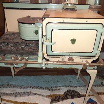 Antique chamber stove (gasless) - Kitchen