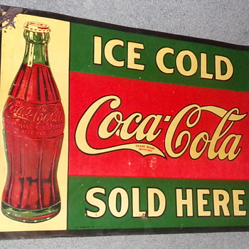 1930 Coca-Cola Sign - Coca-Cola