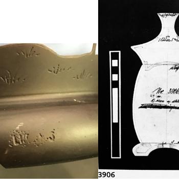 "Loetz ""LUCIDUS"" perfume lamp, ozon m. dunkelbraun, PN III-3906, ca. 1928 - Art Glass"
