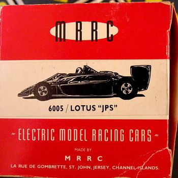 Lotus JPS by MRRC, made in Jersey, Channel Islands - Model Cars