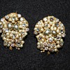 Roberts Originals Clip On Pearl and Rhinestone
