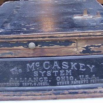 McCaskey Cash Drawer - Office