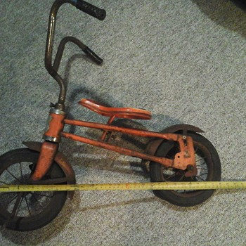 vintage hard rubber two wheel bike - Sporting Goods